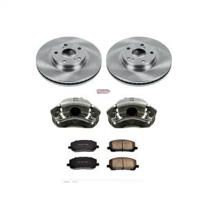 Brakes - Disc Brake Pad/Caliper and Rotor Kit - Power Stop - Autospecialty By Power Stop 1-Click OE Replacement Brake Kit w/Calipers | Power Stop (KCOE1137)