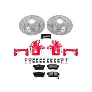 Power Stop - Z23 Evolution Sport Performance 1-Click Brake Kit w/Powder Coated Calipers | Power Stop (KC3128A) - Image 1