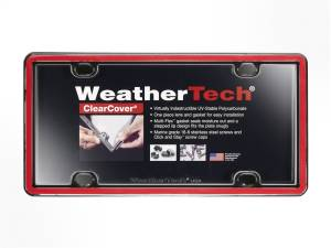 Bumper - License Plate Cover - WeatherTech - ClearCover | WeatherTech (60022)