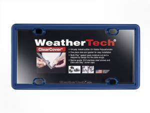 Bumper - License Plate Cover - WeatherTech - ClearCover | WeatherTech (8ALPCC7)