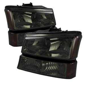 Exterior Lighting - Cornering Light Assembly - Spyder Auto - XTune Crystal Headlights/Bumper Lights   Spyder Auto (5064523)