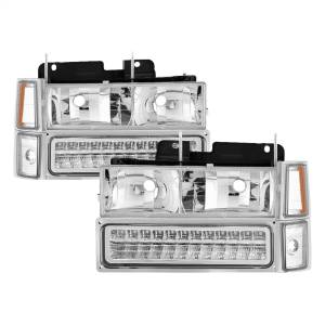 Exterior Lighting - Cornering Light Assembly - Spyder Auto - XTune Bumper Headlights/Corner Lights   Spyder Auto (5069559)