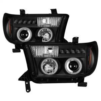 Exterior Lighting - Head Light Set - Spyder Auto - CCFL Halo LED Projector Headlights | Spyder Auto (5030306)