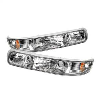 Exterior Lighting - Bumper Light Assembly - Spyder Auto - XTune Euro Style Bumper Lights | Spyder Auto (5014764)