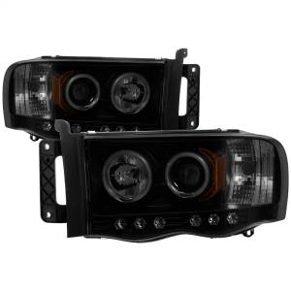Exterior Lighting - Head Light Set - Spyder Auto - CCFL Halo LED Projector Headlights | Spyder Auto (5078797)