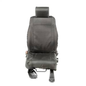 Seats and Accessories - Seat Cover - Rugged Ridge - Ballistic Seat Cover Set | Rugged Ridge (13216.11)