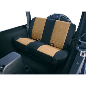 Seats and Accessories - Seat Cover - Rugged Ridge - Custom Fit Poly-Cotton Seat Cover | Rugged Ridge (13281.04)
