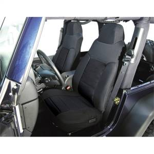 Seats and Accessories - Seat Cover - Rugged Ridge - Custom Fit Poly-Cotton Seat Cover | Rugged Ridge (13242.01)