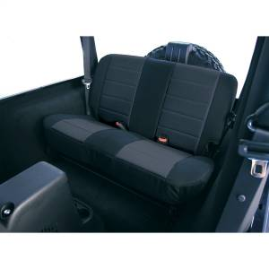 Seats and Accessories - Seat Cover - Rugged Ridge - Custom Fit Poly-Cotton Seat Cover | Rugged Ridge (13281.01)