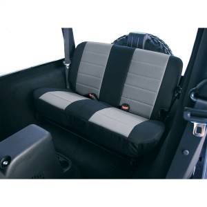 Seats and Accessories - Seat Cover - Rugged Ridge - Custom Fit Poly-Cotton Seat Cover | Rugged Ridge (13282.09)