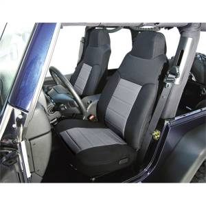 Seats and Accessories - Seat Cover - Rugged Ridge - Custom Fit Poly-Cotton Seat Cover | Rugged Ridge (13242.09)