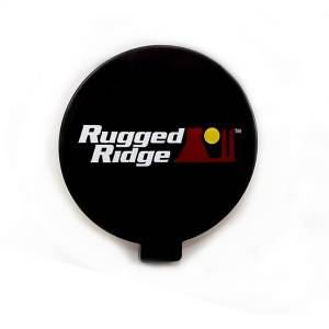 Exterior Lighting - Fog/Driving Light Cover - Rugged Ridge - Fog Light Cover | Rugged Ridge (15210.57)