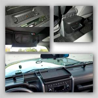 Truck Bed Accessories - Roll Bar Storage Bag - Rugged Ridge - Interior Storage Kit   Rugged Ridge (12496.16)