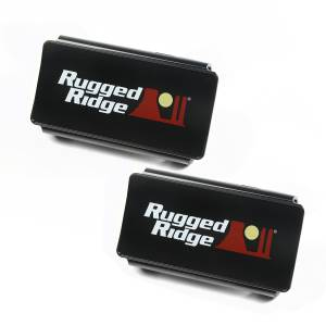 Exterior Lighting - Fog/Driving Light Cover - Rugged Ridge - LED Light Cover | Rugged Ridge (15210.47)