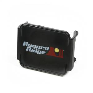 Exterior Lighting - Fog/Driving Light Cover - Rugged Ridge - LED Light Cover | Rugged Ridge (15210.48)