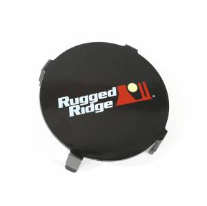 Exterior Lighting - Fog/Driving Light Cover - Rugged Ridge - LED Light Cover | Rugged Ridge (15210.64)