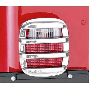 Exterior Lighting - Tail Light Guard - Rugged Ridge - Taillight Guard | Rugged Ridge (11354.03)