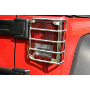 Exterior Lighting - Tail Light Guard - Rugged Ridge - Taillight Guard | Rugged Ridge (11103.03)