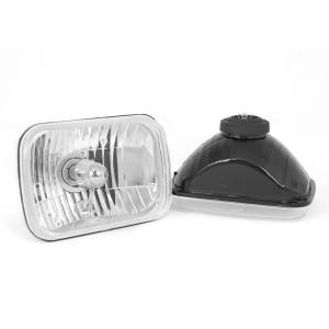 Exterior Lighting - Head Light - Rugged Ridge - Crystal H2 Headlight | Rugged Ridge (12402.82)