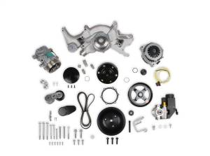Holley Performance - Mid-Mount Complete Accessory Drive System   Holley Performance (20-242) - Image 1