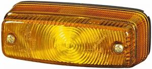 Exterior Lighting - Turn Signal Light Assembly - Hella - 7027 Turn Lamp | Hella (997027031)