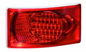 Exterior Lighting - Turn Signal Light Assembly - Hella - 8982 LED Brilliant Wraparound Stop/Turn Lamp | Hella (008982387)