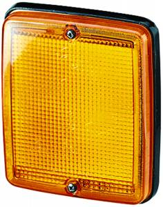 Exterior Lighting - Turn Signal Light Assembly - Hella - 3236 Turn Lamp | Hella (003236088)