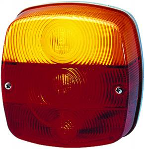 Exterior Lighting - Tail Light Assembly - Hella - 2578 Stop/Turn/Tail/License Plate Lamp | Hella (002578707)