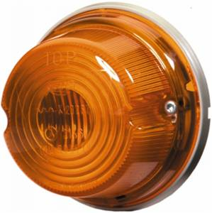 Exterior Lighting - Turn Signal Light Assembly - Hella - 1259 Turn Lamp | Hella (001259611)