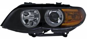 Exterior Lighting - Head Light Assembly - Hella - BI-Xenon Headlamp Assembly/OE Replacement | Hella (224485331)