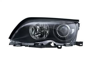 Exterior Lighting - Head Light Assembly - Hella - BI-Xenon Headlamp Assembly/OE Replacement | Hella (010052011)