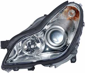 Exterior Lighting - Head Light Assembly - Hella - BI-Xenon Headlamp Assembly/OE Replacement | Hella (008821351)