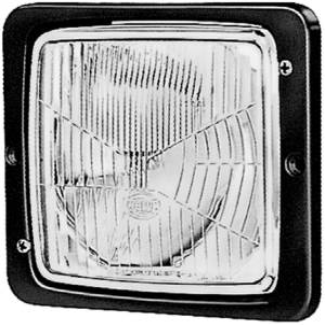 Exterior Lighting - Head Light Assembly - Hella - 138x124mm Flush Mount Headlamp | Hella (004109041)