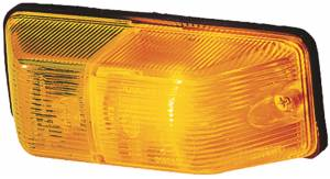 Exterior Lighting - Side Repeater Light Assembly - Hella - 6692 Repeater Lamp | Hella (006692021)