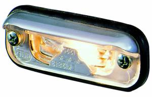 Exterior Lighting - License Plate Light - Hella - 1378 License Plate Lamp | Hella (001378041)