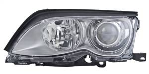 Exterior Lighting - Head Light Assembly - Hella - BI-Xenon Headlamp Assembly/OE Replacement | Hella (010053031)