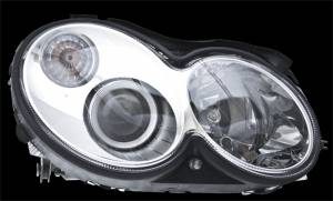 Exterior Lighting - Head Light Assembly - Hella - BI-Xenon Headlamp Assembly/OE Replacement | Hella (007988561)