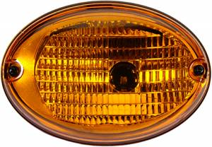 Exterior Lighting - Turn Signal Light Assembly - Hella - 3130 Agroluna Turn Lamp | Hella (343130051)