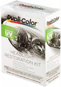 Cleaning Products - Head Light Restoration Kit - Dupli-Color Paint - Dupli-Color Head Light Restoration Kit | Dupli-Color Paint (HLR100)