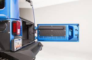 Truck Bed Accessories - Tailgate Protector - Fab Fours - Door Plate | Fab Fours (JK2000-1)