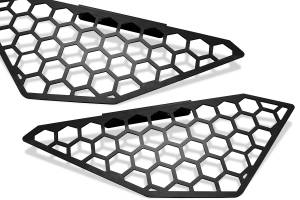 Bumper - Mesh Insert - Fab Fours - Vengeance Side Light Mesh Insert Cover | Fab Fours (M5250-B)
