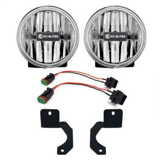 Exterior Lighting - Fog Light Kit - KC HiLites - Gravity LED G4 Fog Light | KC HiLites (504)