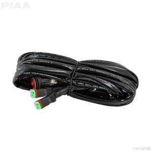 Exterior Lighting - Auxiliary Light Wire Harness - PIAA - DT Light Harness | PIAA (34073)
