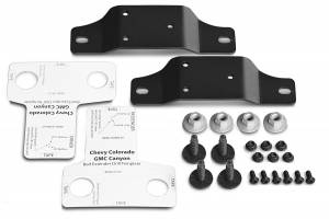 Truck Bed Accessories - Truck Bed Tailgate Extension Bracket Kit - AMP Research - BedXtender HD GMT 900 Bracket Kit | AMP Research (74611-01A)