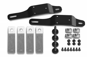 Truck Bed Accessories - Truck Bed Tailgate Extension Bracket Kit - AMP Research - BedXtender HD GMT 900 Bracket Kit | AMP Research (74612-01A)