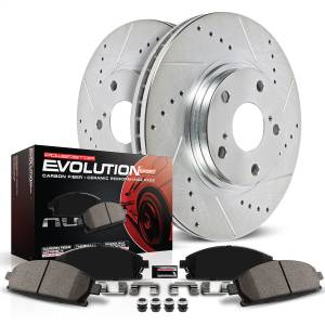 Power Stop - Z23 Evolution Sport Performance 1-Click Brake Kit   Power Stop (K6372) - Image 2