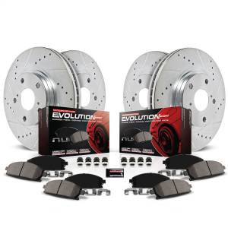 Power Stop - Z23 Evolution Sport Performance 1-Click Brake Kit | Power Stop (K6350) - Image 2