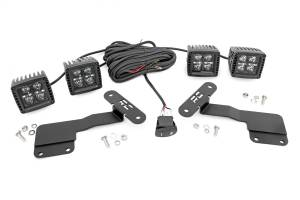 Exterior Lighting - Exterior LED Kit - Rough Country - LED Lower Windshield Ditch Kit   Rough Country (70854)