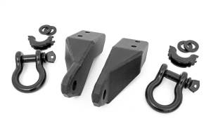 Towing - Tow Hook Mount - Rough Country - Tow Hook To Shackle Conversion Kit | Rough Country (RS154)