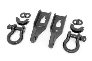 Towing - Tow Hook Mount - Rough Country - Tow Hook To Shackle Conversion Kit | Rough Country (RS158)